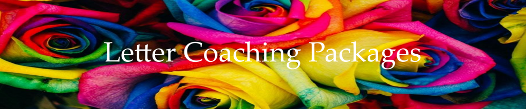 Letter Lifestyle Coaching Packages